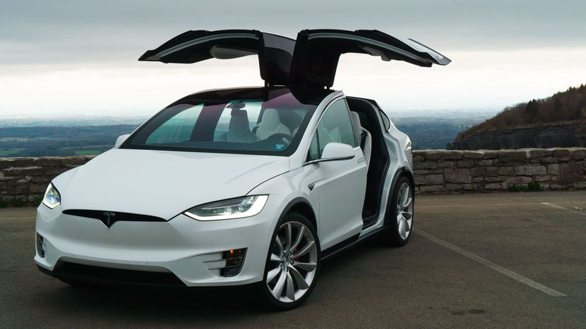 Tesla Model X - Dream Electric Car in Ghana