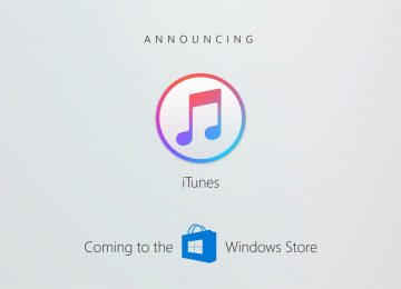 iTunes Is Coming To The Windows Store
