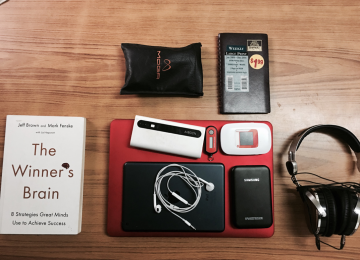 What's In Your Bag: Christopher Opara