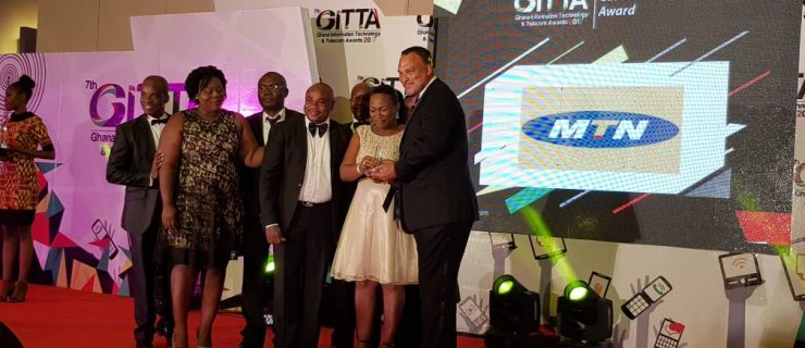 MTN Wins Big At 7th Ghana Information Technology & Telecom Awards; List Of Winners