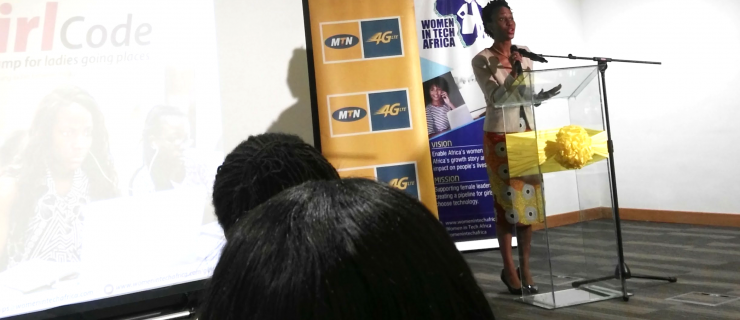 MTN And Women In Tech Africa Officially Launch MTN Girl Code Bootcamp