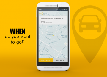 Heated Competition: Dropping Is The Latest Ride Sharing App To Enter The Ghanaian Market