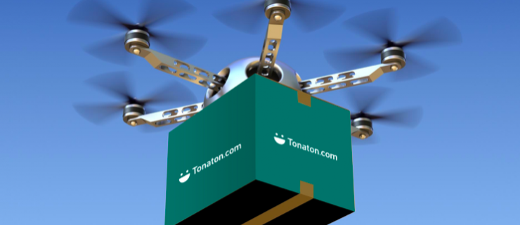 Tonaton Unveils Plan For Drone Delivery Service