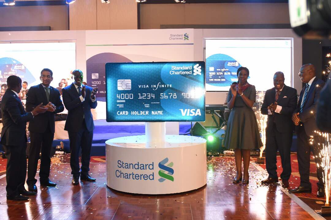 Standard chartered bank launches its credit card products in ghana standard chartered bank launches its credit card products in ghana reheart Image collections