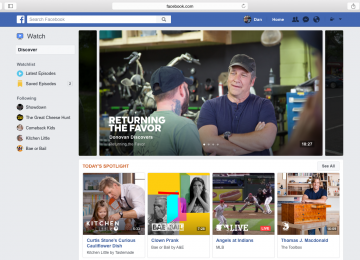 """Social TV: Facebook Goes Live With """"Watch"""", A Platform For Video Programming"""