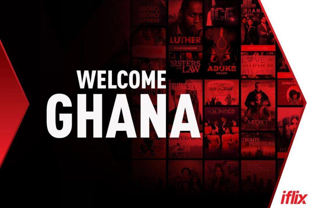 "iflix ghana ""Welcome Ghana"" promotional image"