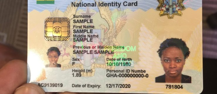 Launching Soon: The Ghana Card Will Become The Primary Form Of ID For Ghanaians