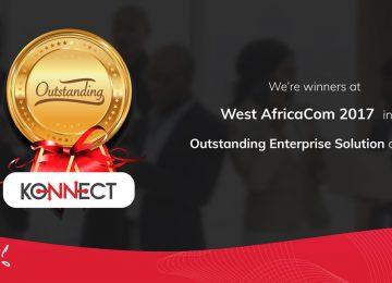 Kirusa Wins The West Africa Com Award For Outstanding Enterprise Solution 2017