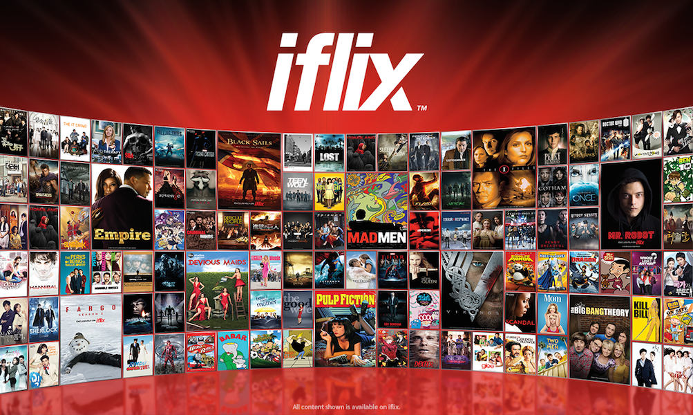 Iflix the netflix of asia launches in ghana tech nova iflix stopboris Choice Image