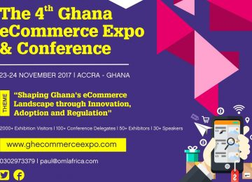 Event: The 4th Ghana Ecommerce Expo Starts On 23rd – 24th November