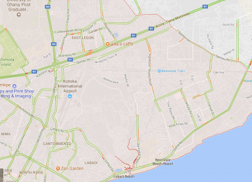 Google Maps Now Has Live Traffic Information In Accra