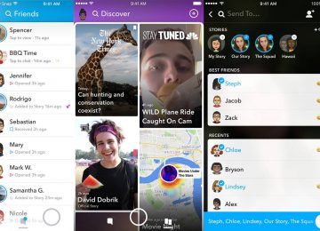 Snapchat Redesigns Their App For Easier User
