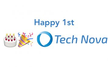 Happy 1st Birthday Tech Nova