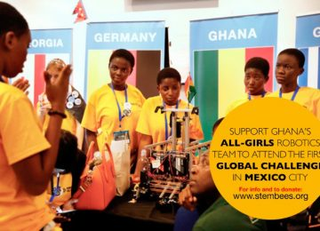 Ghana's All-Girls Robotics Team to Participate in International Competition in Mexico